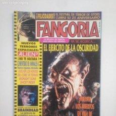 Cinema: FANGORIA Nº 12 LA REVISTA DE CINE DE TERROR. EDICIONES ZINCO. TDKC40. Lote 168695524