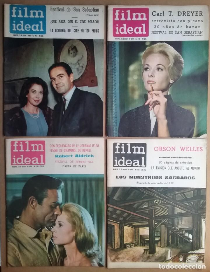 Cine: CINE REVISTA FILM IDEAL LOTE 49 AÑOS 60 - Foto 4 - 168820548
