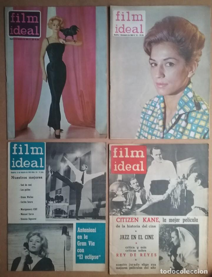 Cine: CINE REVISTA FILM IDEAL LOTE 49 AÑOS 60 - Foto 11 - 168820548