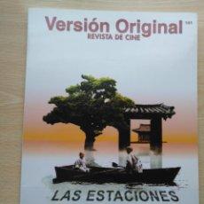 Cine: REVISTA DE CINE VERSION ORIGINAL Nº 141 JULIO-SEPTIEMBRE 2006. Lote 178340916