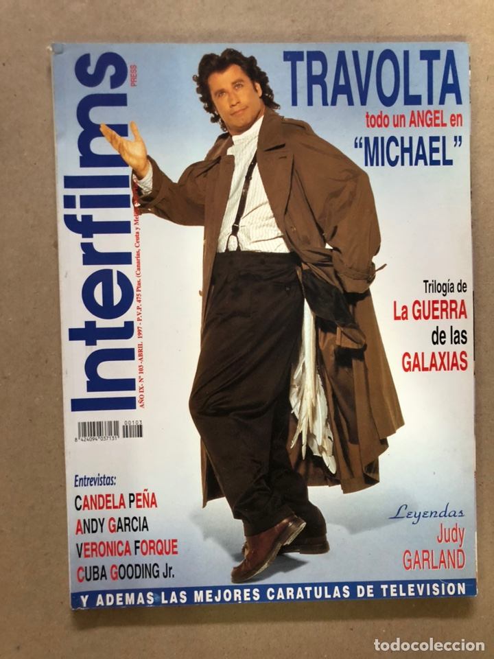 INTERFILMS N°103 (ABRIL, 1997). ESPECIAL TRILOGÍA LA GUERRA DE LAS GALAXIAS, CANDELA PEÑA, ANDY (Cine - Revistas - Interfilms)