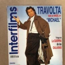 Cine: INTERFILMS N°103 (ABRIL, 1997). ESPECIAL TRILOGÍA LA GUERRA DE LAS GALAXIAS, CANDELA PEÑA, ANDY. Lote 169443504