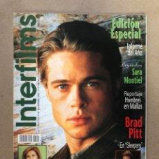 Cinema: INTERFILMS N°99 (DICIEMBRE, 1996). BRAD PITT, SARA MONTIEL, CONCHA VELASCO, CON CARÁTULAS DE. Lote 169444038