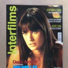 Cinema: INTERFILMS N° 96 (SEPTIEMBRE, 1996). STAR TREK VOYAGER, DEMI MOORE STRIPTEASE, AL PACINO,.... Lote 169444249