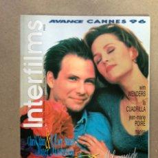 Cine: INTERFILMS N° 92 (MAYO, 1996). WIM WENDERS, MARISA TOMEI, CHRISTIAN SLATER,.... Lote 169444880