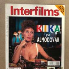 Cine: INTERFILMS N° 62 (NOVIEMBRE, 1993). KIKA DE PEDRO ALMODÓVAR, IMANOL ARIAS, CLINT EASTWOOD,.... Lote 182160302