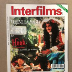 Cine: INTERFILMS N° 51 (DICIEMBRE, 1992). SPIELBERG, SEAN CONNERY, JANE FONDA, ELIA KAZAN,.... Lote 169449094