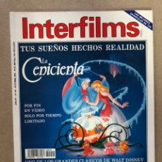 Cine: INTERFILMS N° 49 (OCTUBRE, 1992). LA CENICIENTA, RIVER PHOENIX, SIDNEY LUMET, BRIAN DE PALMA,.... Lote 169449353
