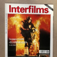 Cine: INTERFILMS N° 44 (MAYO, 1992). HARRISON FORD, DAVID LEAN, CHUCK NORRIS, JOSÉ NIETO,.... Lote 169449838