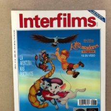 Cine: INTERFILMS N° 43 (ABRIL, 1992). PATRICK SWAYZE, GLENN CLOSE, MERYL STREEP, BILLY WILDER. Lote 169450326