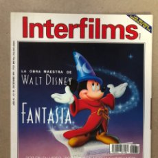 Cine: INTERFILMS N° 39 (DICIEMBRE, 1991). STANLEY DONEN, JUANMA BAJO ULLOA, JOHN SINGELTON,.... Lote 169451344