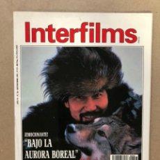 Cine: INTERFILMS N° 36 (SEPTIEMBRE, 1991). RICHARD BROOKS, HUMPHREY BOGART, JACQUELINE BISSET,.... Lote 169452100