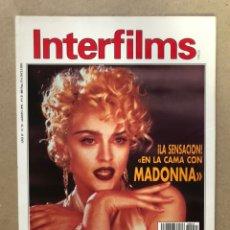 Cinema: INTERFILMS N° 35 (AGOSTO, 1991). MADONNA, STANLEY KUBRICK, AKIRA KUROSAWA, SPIKE LEE,.... Lote 169452312