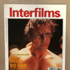Cine: INTERFILMS N° 34 (JULIO, 1991). ROBERT DE NIRO, RIDLEY SCOTT, JOEL Y ETHAN COHEN, MEL BROOKS,.... Lote 169452500