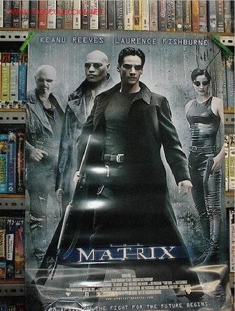 MATRIX 1º PARTE (Cine - Reproducciones de carteles, folletos...)
