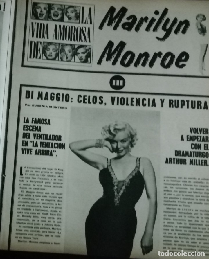 Cine: CINE EN 7 DIAS Nº517 1971 christine ferrare-GINA LOLOBRIGIDA-FLORINDA BOLKAN- MARILYN MONROE (3) - Foto 2 - 79775153