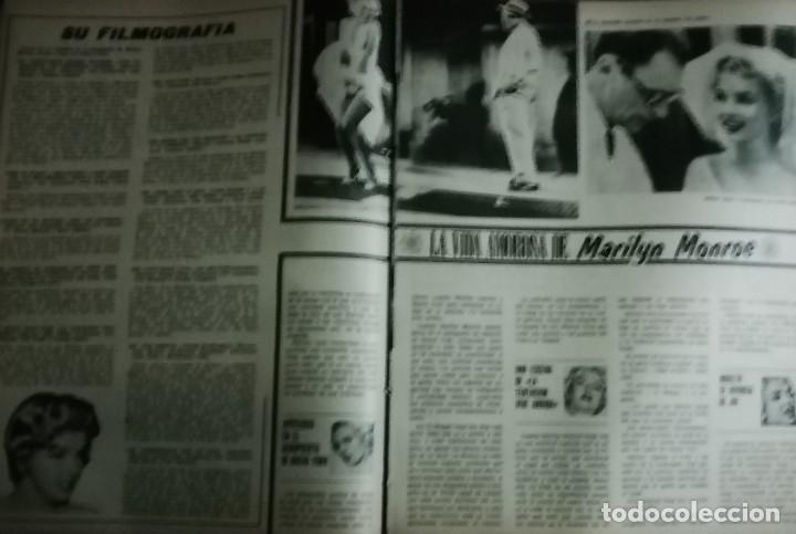 Cine: CINE EN 7 DIAS Nº517 1971 christine ferrare-GINA LOLOBRIGIDA-FLORINDA BOLKAN- MARILYN MONROE (3) - Foto 3 - 79775153