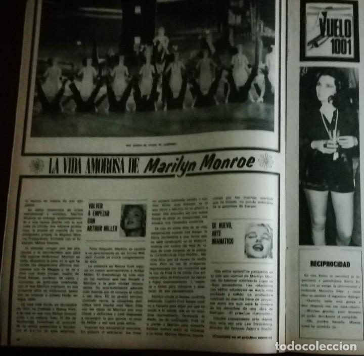 Cine: CINE EN 7 DIAS Nº517 1971 christine ferrare-GINA LOLOBRIGIDA-FLORINDA BOLKAN- MARILYN MONROE (3) - Foto 4 - 79775153