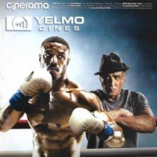 Cinema: REVISTA CINERAMA YELMO CINES Nº 278 CREED II. Lote 169729168