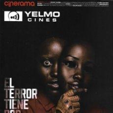 Cine: REVISTA CINERAMA YELMO CINES Nº 280 EL TERROR TIENE DOS CARAS // DISPONIBLE:2. Lote 169729300
