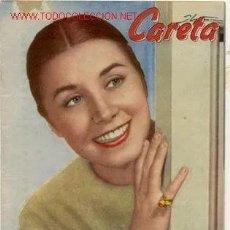 Cine: REVISTA MAGAZINE / CARETA AÑO 1958 / CONCHITA VELASCO / 3 PTAS.. Lote 169916628