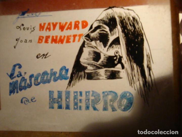 LA MASCARA DE HIERRO (Cine - Revistas - Otros)