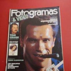 Cine: REVISTA FOTOGRAMAS, Nº 1760 AÑO 1990 - ARNOLD SCHWARZENEGGER. Lote 226601295