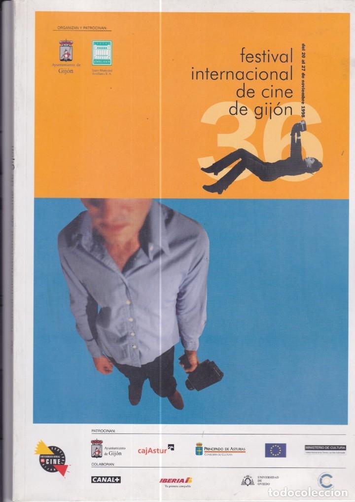 FESTIVAL INTERNACIONAL DE CINE DE GIJÓN. CATÁLOGO DE LA EDICIÓN DE 1998 (Cine - Revistas - Otros)