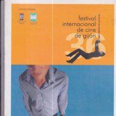 Cine: FESTIVAL INTERNACIONAL DE CINE DE GIJÓN. CATÁLOGO DE LA EDICIÓN DE 1998. Lote 170766190