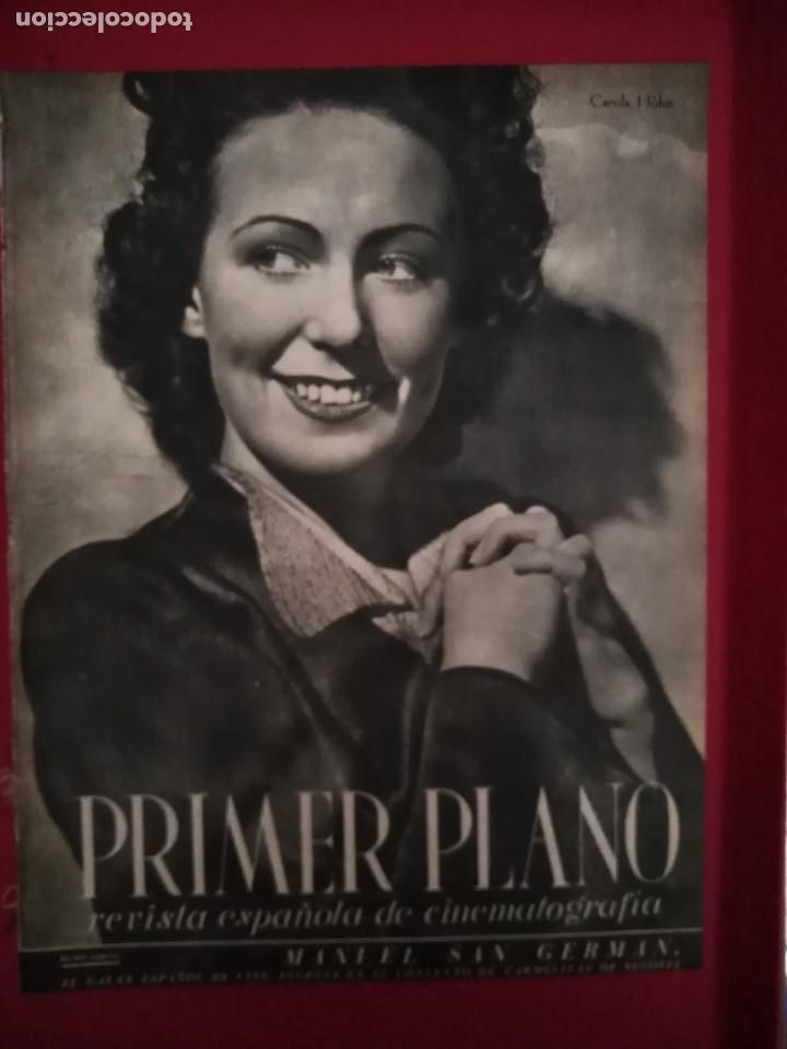 PRIMER PLANO N 97 23 DE AGOSTO DE 1942 CAROLA HÖHN (Cine - Revistas - Primer plano)