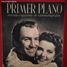 Cine: REVISTA PRIMER PLANO, AÑO III, Nº 69, 1942, ANN RUTHERFORD,LEE BOWMAN,VERONICA LAKE,MARIANNE SIMSON. Lote 170878425