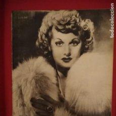 Cinéma: PRIMER PLANO REVISTA DE CINEMATOGRAFIA Nº 41, JULIO 1941, PORTADAS, LUCILLE BALL Y JESUS TORDESILLAS. Lote 170882050