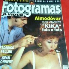 Cine: FOTOGRAMAS 1802 . NOVIEMBRE 1993. Lote 170934610