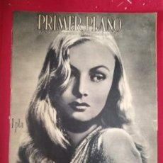 Cine: REVISTA PRIMER PLANO, 1944, AÑO V, Nº 193, VERONICA LAKE, JHON PAYNE, MARIKA ROKK. Lote 170948560