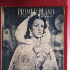 Cine: REVISTA PRIMER PLANO, 1944, AÑO V, Nº 186, AMPARITO RIVELLES, MARIANO ASQUERINO, RAFAEL GIL. Lote 170950130