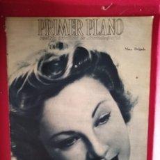 Cine: REVISTA PRIMER PLANO. AGOSTO 1943. Nº 146. MARY DELGADO. EL MISTERIO DE JOSITA HERNAN.. Lote 170958147