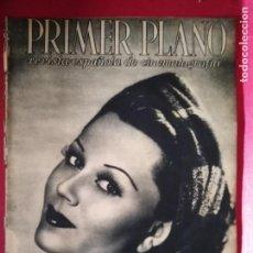 Cine: REVISTA PRIMER PLANO. ABRIL 1943. Nº 129. PAOLA BARBARA. LA PRIMERA VUELTA DEL ESCANDALO.. Lote 170959052