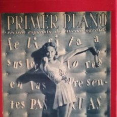 Cine: REVISTA PRIMER PLANO Nº 271, ELAINE SHEPARD, ROBERT WALKER, JUNE ALLYSON. Lote 170962897