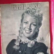 Cinéma: PRIMER PLANO 258 23 DE SEPTIEMBRE DE 1945 LANA TURNER GARY COOPER Y PAULETTE GODDARD. Lote 170965278