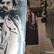 Cine: PRIMER PLANO N°283 03/1946 •DOROTHY PATRICK• SARA MONTIEL• GARBANCITO DE LA MANCHA•. Lote 170971703