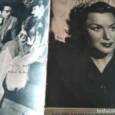 Cine: PRIMER PLANO 291 PAOLO BARBARA 12 MAYO 1946 LUCILLE BALL Y ROBERT WALKER . Lote 170973344