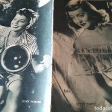 Cine: PRIMER PLANO BETTE DAVIS ANTOÑITA COLOME RAY MILLAND JEAN PORTER 1946 Nº 292. Lote 170973602