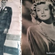 Cine: PRIMER PLANO Nº 294-1946-VIRGINIA MAYO-AVA GARDNER-ARTIE SHAW-SUSAN HAYWARD-ELLA RAINES-HEDY LAMARR. Lote 170975579