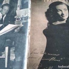 Cine: PRIMER PLANO 297 MADRID 23 DE JUNIO DE 1946 NUM ELENA MARQUEZ KATHERHERINE HEPBURN Y SPENCER TRACY . Lote 170976115