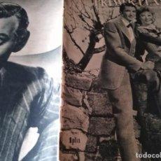 Cine: PRIMER PLANO 299 MADRID 7 DE JULIO 1946 GREER GARSON Y GREGORY PECK CLARK GABLE . Lote 170976284
