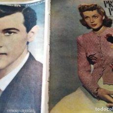 Cine: PRIMER PLANO Nº 356 MADRID 10 AGOSTO 1947 LILLI PALMER SSTEWART GRANGER . Lote 170978212