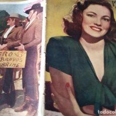 Cine: PRIMER PLANO REVISTA DE CINE AÑO 1947 Nº 327 EN PORTADA GENE TIERNEY ESTHER WILLIAM RICHARD THOPRE . Lote 170978919