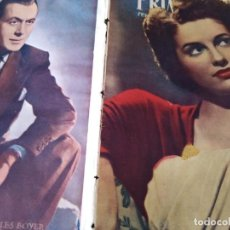 Cine: PRIMER PLANO N 342 MADRID 4 MAYO 1947 MARIA EUGENIA CHARLES BOYER. Lote 170980075