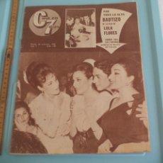 Cine: Nº 138 REVISTA CINE EN 7 DIAS 1963 C7 BAUTIZO DE ROSARIO HIJA DE LOLA FLORES,PSYCHE 59, PT-109 . Lote 170983613