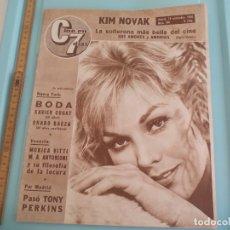 Cine: Nº 180 REVISTA CINE EN 7 DIAS 1964 C7 KIM NOVAK,MONICA VITTI,MARILYN MONROE,LUIS MARIANO,CHARO BAEZA. Lote 170984017